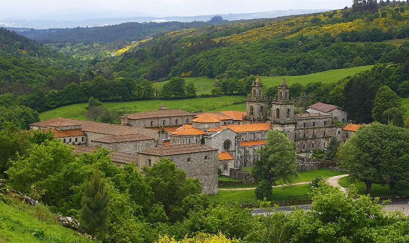 Camino Mozárabe - Monasterio de Oseira