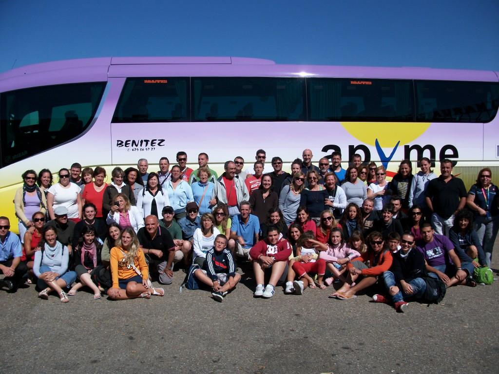 Camino de Santiago con bus de apoyo