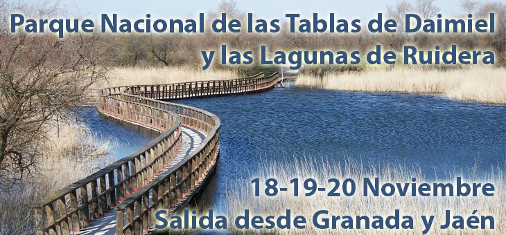 18 – 20 de Noviembre Senderismo en el Parque Nacional de las Tablas de Daimiel