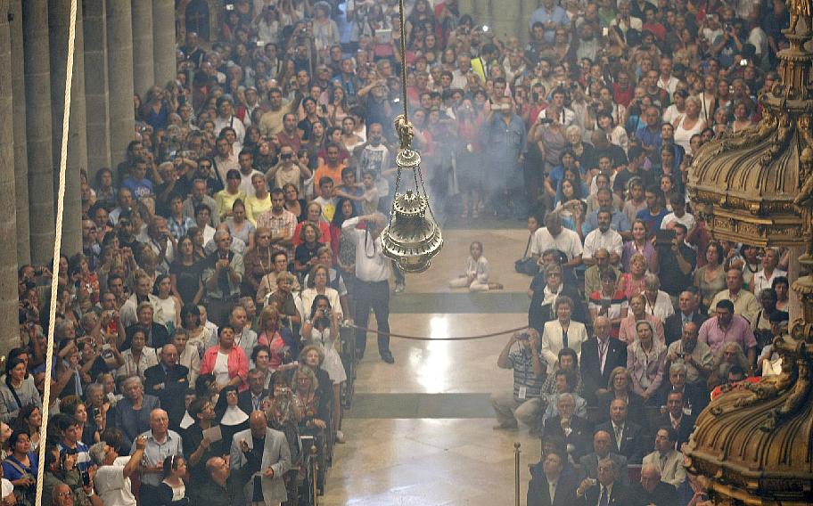 Año Santo Compostelano - Botafumeiro